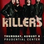 The Killers Tour 2013: Newark, New Jersey