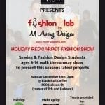 Holiday Red Carpet Fashion Show