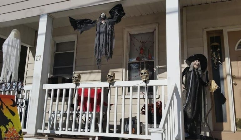witch halloween house in hudson county