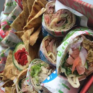 Pita Pit in The Digest Lunchbox