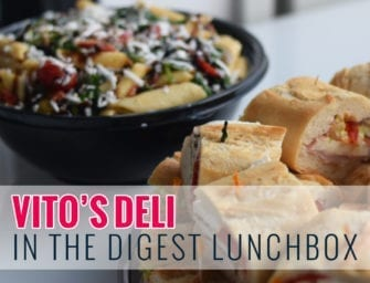 Vito's Deli In the Digest Lunchbox
