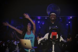 Kaygee Gist of Naughty by Nature during Prime Cycle grand opening